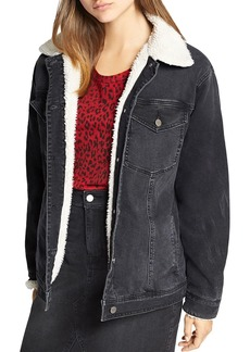 Sanctuary Sherpa Lined Denim Jacket