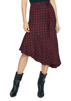 Sanctuary She's the One Check Asymmetric Skirt