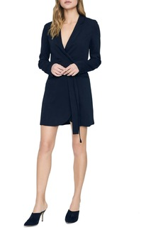 Sanctuary Showstopper Double Breasted Long Sleeve Dress (Regular & Petite)