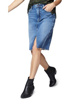Sanctuary Sia A-Line Denim Skirt