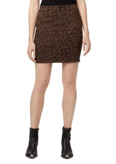 Sanctuary Sia Leopard Print Skirt
