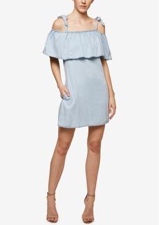 Sanctuary Sigrid Denim Cold-Shoulder Dress
