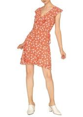 Sanctuary Johanna Floral Wrap-Front Dress