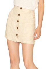 Sanctuary Smart Creation Trail Blazer Linen Utility Skirt