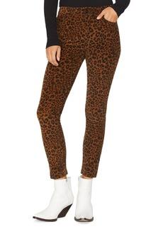 Sanctuary Social Affair Corduroy Skinny Jeans in Leopard