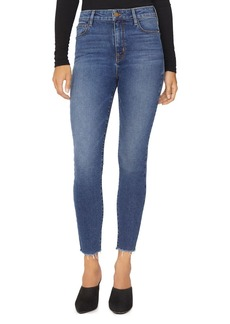 Sanctuary Social High Rise Ankle Jeans in Arena Blue