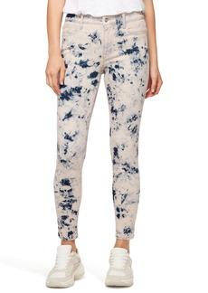 Sanctuary Social Standard Ankle Skinny Jeans (Paradise Tie Dye)