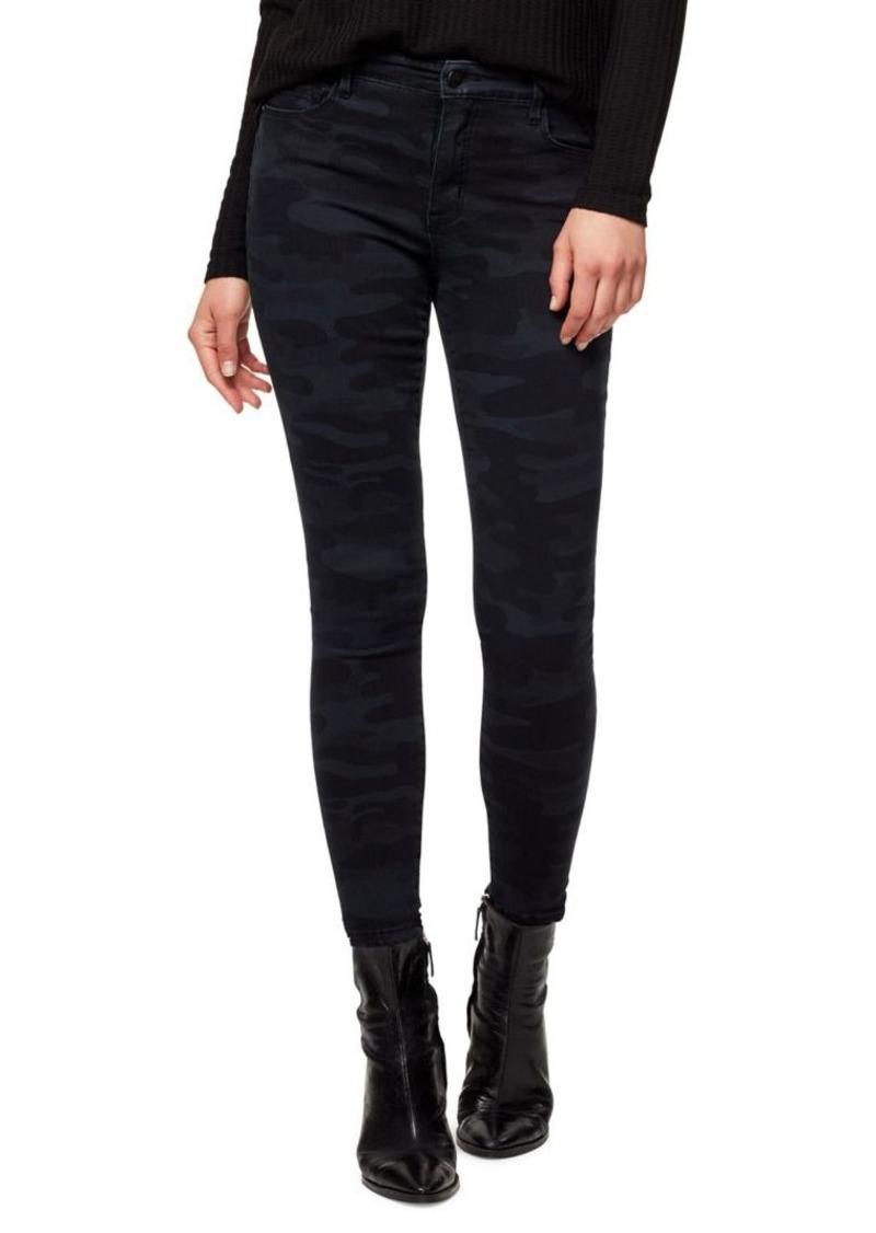 Sanctuary Social Standard Camouflage Ankle-Length Jeans