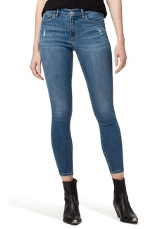 Sanctuary Social Standard Distressed Ankle Skinny Jeans (Pure Spar)
