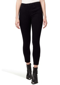 Sanctuary Social Standard High Waist Ankle Skinny Jeans (Jet)
