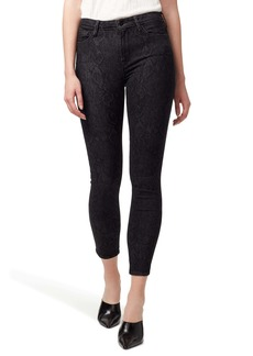 Sanctuary Social Standard High Waist Ankle Skinny Jeans (Serpent Black)