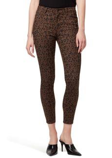 Sanctuary Social Standard Leopard High Waist Ankle Skinny Pants