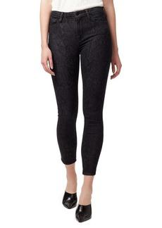 Sanctuary Social Standard Printed Skinny Ankle Jeans