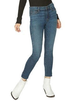 Sanctuary Social Standard Raw Hem Ankle Skinny Jeans