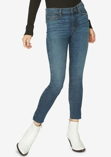 Sanctuary Social Standard Raw-Hem Jeans