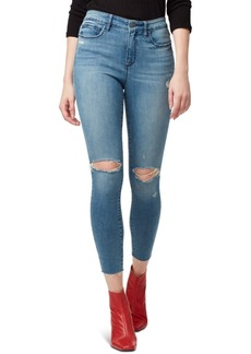 Sanctuary Social Standard Ripped Ankle Skinny Jeans
