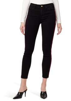 Sanctuary Social Standard Side Stripe Ankle Skinny Jeans (Eyeliner Rich )