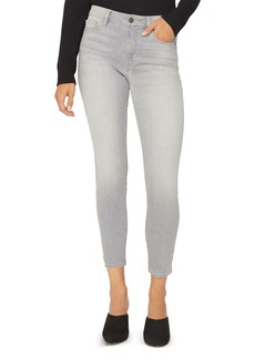 Sanctuary Social Standard Skinny Ankle Jeans in Soft Gray
