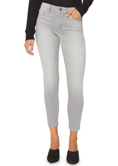 Sanctuary Social Standard Skinny Ankle Jeans (Pale Soft Grey)