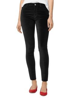 Sanctuary Social Standard Velvet High-Rise Skinny Jeans