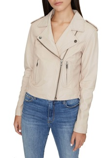 Sanctuary Soho Leather Moto Jacket (Regular & Petite)