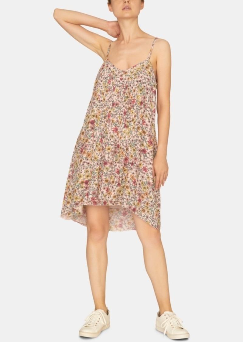 Sanctuary Spring Ahead Printed Pleated Dress