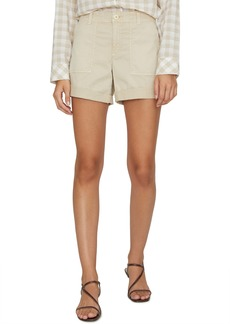 Sanctuary Squad Stretch Cotton Shorts