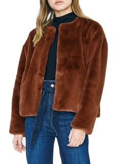 Sanctuary Starry Night Faux Fur Jacket (Regular & Petite)