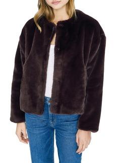 Sanctuary Starry Night Faux Fur Jacket (Regular & Petite)