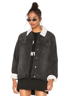 Sanctuary Statement Sherpa Denim Jacket