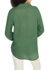 Sanctuary Steady Boyfriend Roll Tab Shirt (Regular & Petite)