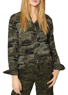 Sanctuary Steady Camo Boyfriend Shirt