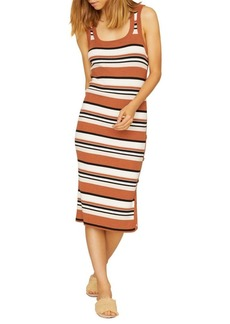 Sanctuary Striped Midi Dress