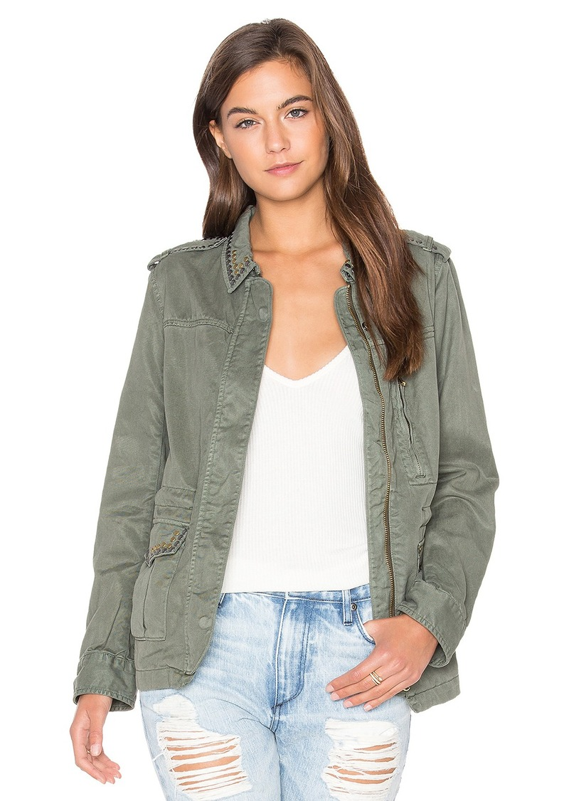 Sanctuary Studded Military Jacket