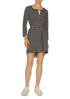 Sanctuary Sullivan Striped Henley Dress