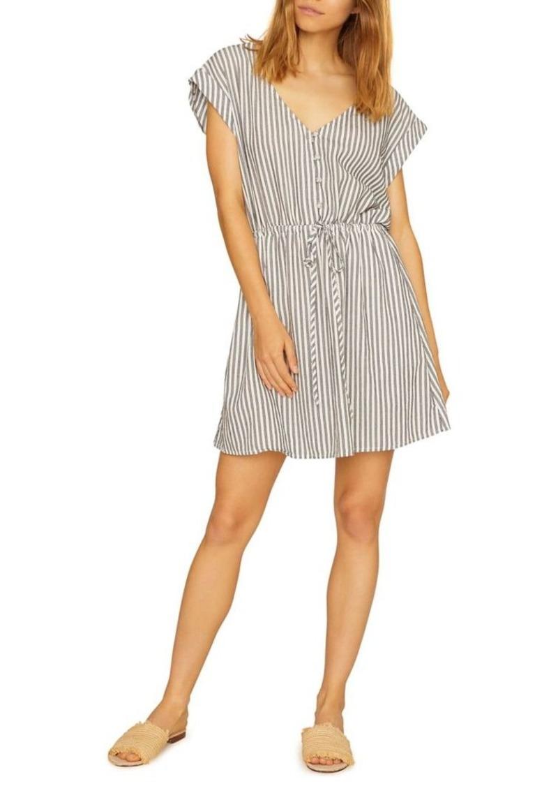 Sanctuary Sundrenced Striped Shirt Dress