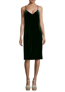 Sanctuary Sydney Knee-Length Velvet Dress