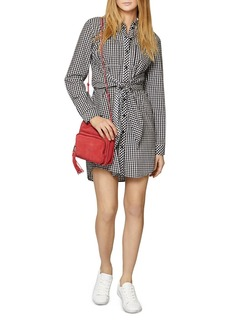 Sanctuary Tali Tie-Front Shirt Dress