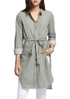 Sanctuary Teagan Tied Stripe Shirt Dress