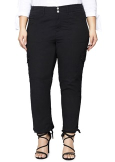 Sanctuary Terrain Crop Cargo Pants (Plus Size)
