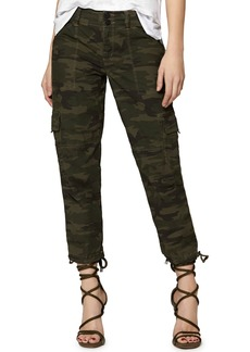 Sanctuary Terrain Linen Crop Cargo Pants