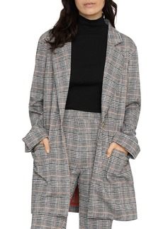 Sanctuary The Editor Oversized Plaid Jacket