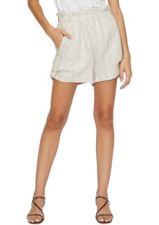 Sanctuary The Island Hampton Stripe Linen Shorts (Regular & Petite)