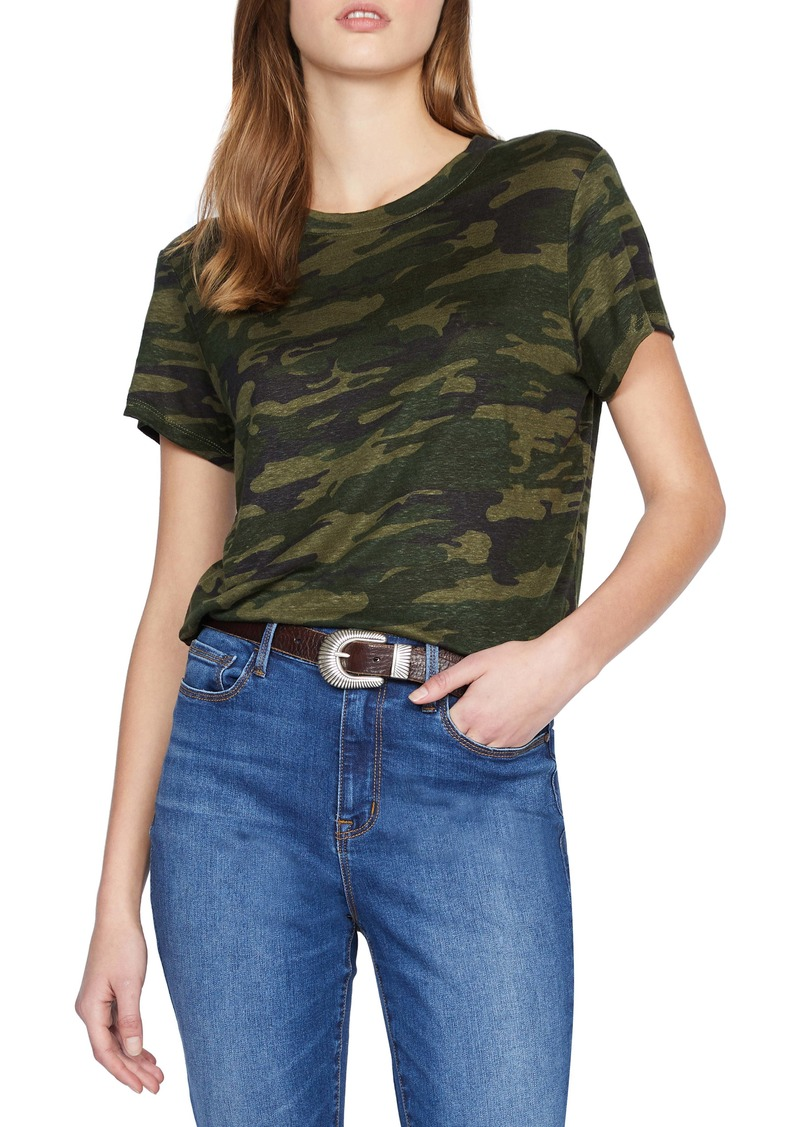 Sanctuary The Perfect Camo Linen Tee