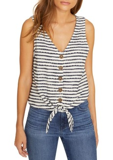 Sanctuary Tied To You Striped Top