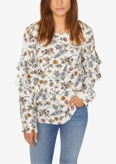 Sanctuary Tilly Ruffled Printed Top