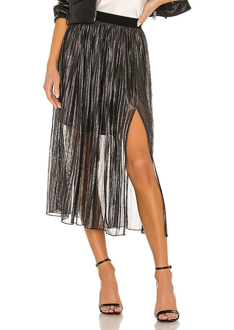 Sanctuary Timeless Pleated Midi Skirt