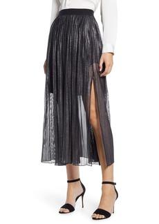Sanctuary Timeless Pleated Midi Skirt (Petite)