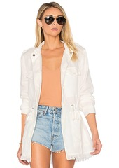 Sanctuary Too Cool For School Jacket in White. - size L (also in M,S)