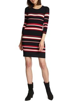 Sanctuary Trailblaze Body-Con Cotton Blend Sweater Dress